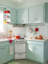 retro kitchen decorating ideas pale green corner cabinet with white countertop for retro styled