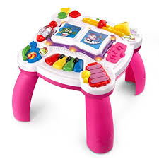 learn and groove table amazon com leapfrog learn and groove musical table activity center