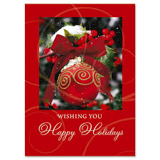 ornament in snow christmas cards current catalog