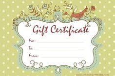 beauty gift certificate templates by www giftcertificatetemplates