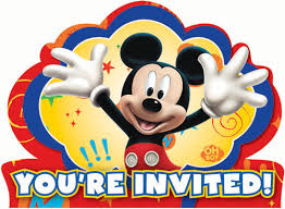 mickey mouse 1st birthday mickey mouse party invitations 8pk parties4kids