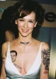 celebrity women tattoos tattoobite com