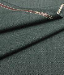 raymond greenish gray woollen semi formal unstitched pant piece