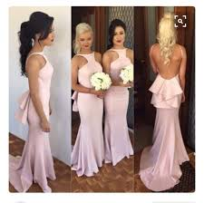 aliexpress com buy sparkly blush pink bridesmaid dresses 2016