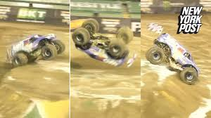 monster truck show new york monster truck makes a groundbreaking monster flip video new