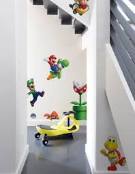 new super mario bros u large wall decals blik u large new super mario bros