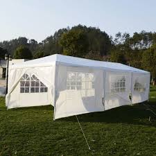 tent building 30 x 10 ft outdoor party canopy tent with 8 walls canopies