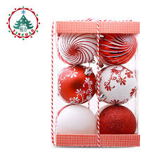 inhoo 2017 new 6 7cm tree decoration ornaments
