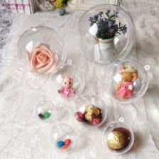 clear plastic ornament balls wholesale clear plastic