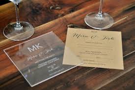 acrylic wedding invitations wordings acrylic wedding invitations with box as well as acrylic