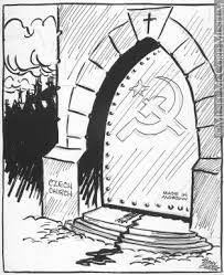 Iron Curtain Political Cartoon Alfa Img Showing U003e Iron Curtain Political Cartoon