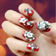 aliexpress com buy 1440pcs clear nail crystal rhinestones ss6