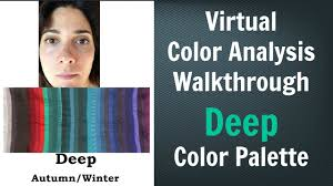 deep winter u0026 deep autumn color palette neutral skin undertone