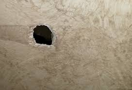 diy hole in the wall non toxic hole patch deba do tell