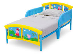 peppa pig plastic toddler bed delta children u0027s products