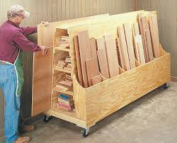 Woodworking Plans Garage Shelves by Best 25 Lumber Storage Ideas On Pinterest Wood Storage Rack