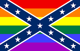 Confederate Flag Clip Art Rainbow Confederate Flagworld Of Flags World Of Flags