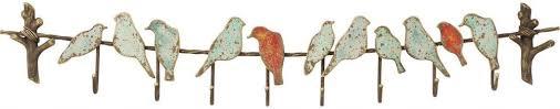 design kleiderhaken kare design kleiderhaken bird 8 haken mehrfarbig