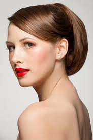 Hochsteckfrisurenen Glattes Haar by Hochsteckfrisur Hochsteckfrisuren Für Lange Und Mittellange Haare