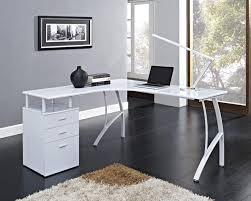 Vantage Corner Desk White Corner Computer Desk In Home Desk Design Modern White