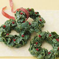 check out christmas cornflakes wreath it u0027s so easy to make
