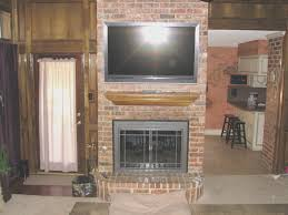 fireplace new how to attach mantle to brick fireplace home