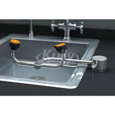Faucet Mounted Eyewash Station Sink Mounted Emergency Eyewash Kullysupply Com
