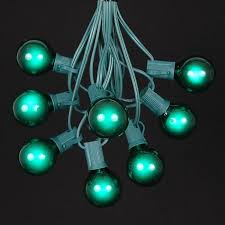green outdoor christmas lights green c7 outdoor christmas light string sets novelty lights inc