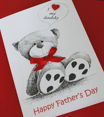 large handmade personalised cute teddy bear father u0027s day or