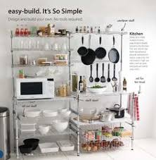 kitchen storage shelves ideas 25 kitchen organization and storage tips metal shelving style