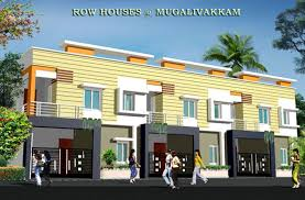 House Elevation by Rajeswari Row House By Rajeswari Infrastructure In Mugalivakkam