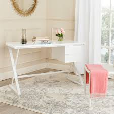 Safavieh Furniture Outlet Store Safavieh Watkins White Desk Fox2205a The Home Depot