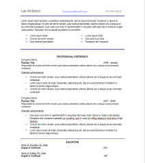 Resume Types Examples by Resume Samples Types Of Resume Formats Examples And Templates