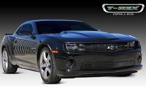 black on black camaro t rex chevrolet camaro ss grille accent all black pt 51026