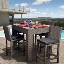 High Top Patio Furniture by Best 25 Bar Height Patio Set Ideas On Pinterest Patio Table