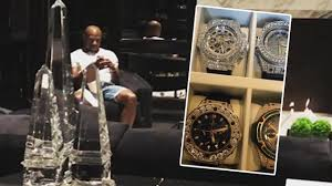 mayweather house floyd mayweather reveals extravagant vino flashy watches and