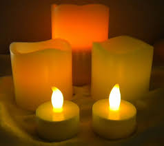 get electric candles to be free from anxiety in decors