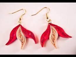 quilling earrings tutorial pdf free download paper earring making easy method design paper quilling earrings