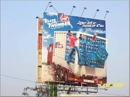 creatively designed this 3d billboard was creatively designed and installed across key