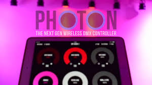 dmx light control software for ipad photon art net dmx light controller app preview youtube