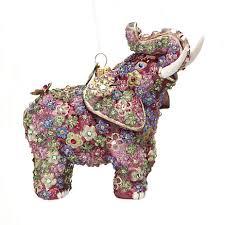 strongwater millefiori elephant ornament gump s
