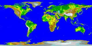 Map Of The Whole World by Earth Views Earth Whole Planet 2d Map From Noaa Recoloured 3