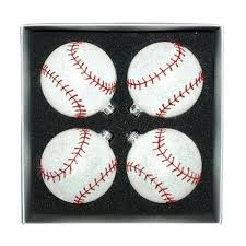 season s designs box set of 3 tree ornaments sports