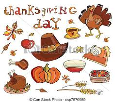 eps vectors of thanksgiving day icon set csp7570989 search clip