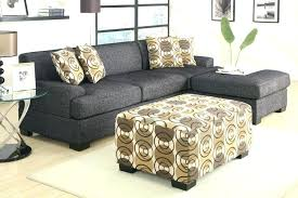 ottoman and matching pillows ottoman and matching pillows modular sectional with ottoman storage