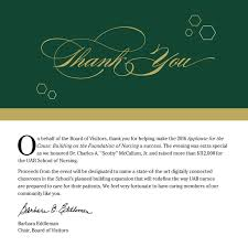 uab of nursing applause for the cause
