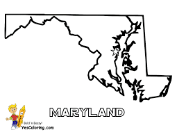 Show Me A Map Of Maryland Free Map Of Each State Alabama Maryland State Maps Map