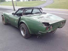 1972 corvette price parts car or project 1972 corvette convertible