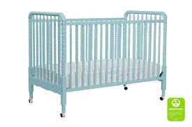 Round Convertible Crib by Jenny Lind Convertible Crib In Lagoon By Davinci Baby