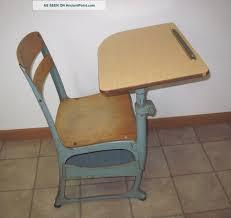 vintage wood desk vintage elementary desk chair vintage wood u0026 metal